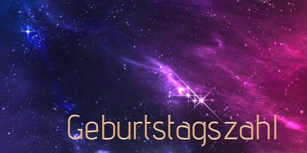 Numerologie Geburtstagszahl